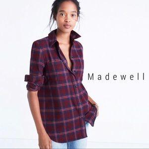Madewell Classic Ex-Boyfriend Flannel Jensen Plaid